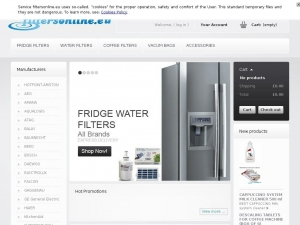 Solid and effective fridge water filters